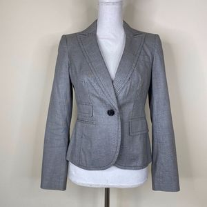 Banana Republic Top Stitched Double Vented Blazer